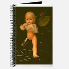 Cute Scary doll Journal