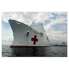 Military Sealift Command hospital ship USNS Comfor