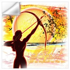Katniss Radiant as the Sun Wall Art Wall Decal