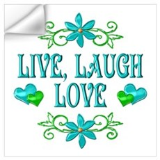 Live Laugh Love Wall Art Wall Decal