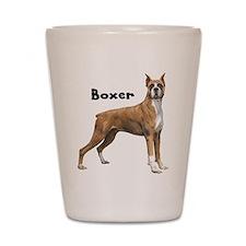 Boxer Shot Glass