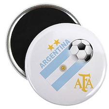 """Argentina Soccer 2.25"""" Magnet (100 pack)"""