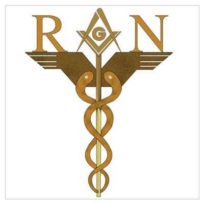 Nursing Masons Wall Art Poster