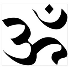 Om Meditation Symbol Wall Art Canvas Art