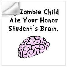 Zombie Child Wall Art Wall Decal