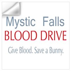 Mystic Falls Blood Drive Save Bunny Wall Art Wall Decal