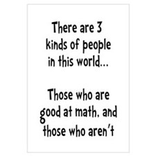 Math People Wall Art