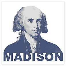 James Madison Wall Art Poster