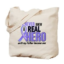 Never Knew a Hero Esophageal Cancer Tote Bag