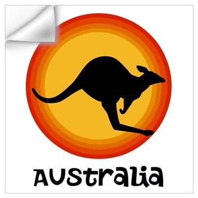 Aussie Sun Wall Art Wall Decal
