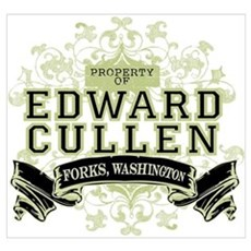 Property of Edward Cullen Wall Art Poster