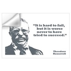 Roosevelt - Failure Wall Art Wall Decal