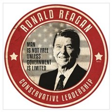 Ronald Reagan Wall Art Poster