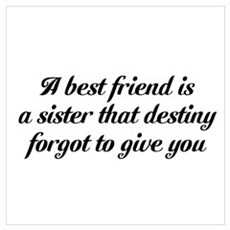 Best Friends Wall Art Canvas Art