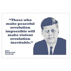 Kennedy - Revolution Wall Art Poster