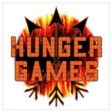 Hunger Games Heat Wall Art Poster