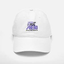 Never Knew a Hero Esophageal Cancer Baseball Baseball Cap