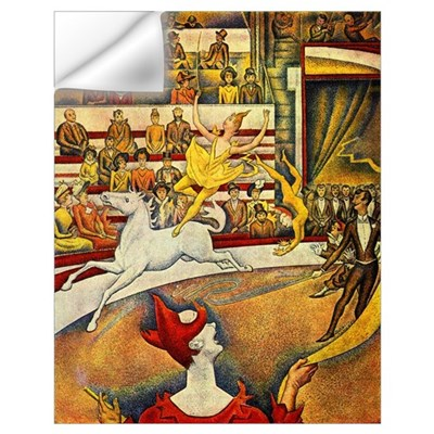 Circus by Seurat Wall Art Wall Decal