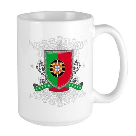Portugal Shield Large Mug