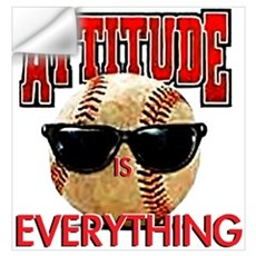 Attitude is Everything Wall Art Wall Decal