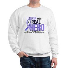 Never Knew a Hero Esophageal Cancer Sweatshirt
