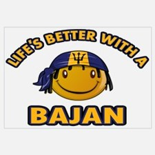 Life's better with a Bajan Wall Art