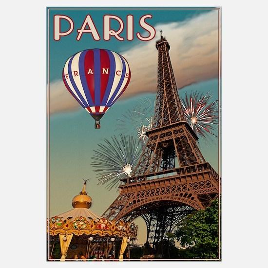 Vintage Eiffel Tower Wall Art