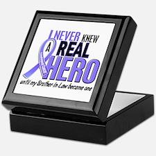 Never Knew a Hero Esophageal Cancer Keepsake Box