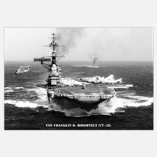 USS FRANKLIN D. ROOSEVELT Wall Art