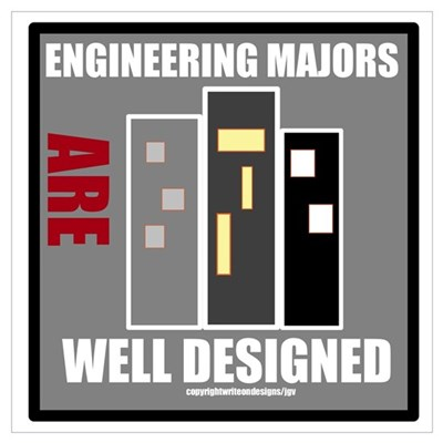 Engineering Majors Are Well D Wall Art Canvas Art
