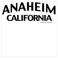 Anaheim Wall Art Canvas Art