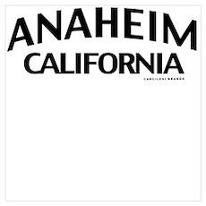 Anaheim Wall Art Poster