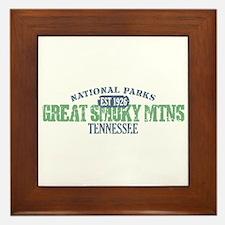 Great Smoky Mountains Nat Par Framed Tile