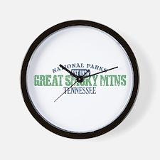 Great Smoky Mountains Nat Par Wall Clock