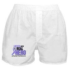 Never Knew a Hero Esophageal Cancer Boxer Shorts