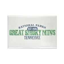 Great Smoky Mountains Nat Par Rectangle Magnet