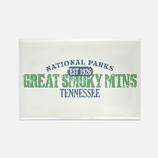 Great Smoky Mountains Nat Par Rectangle Magnet