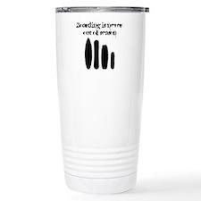 Never out of season Travel Coffee Mug