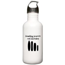 Never out of season Water Bottle