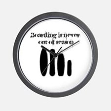 Never out of season Wall Clock