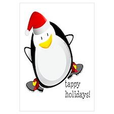 Tappy Holidays! by DanceShirts.com Wall Art