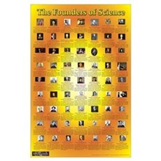 Christian Founders of Science - Wall Art Poster