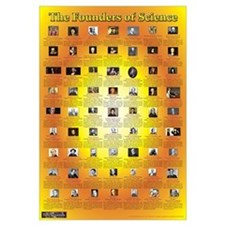 Christian Founders of Science - Wall Art