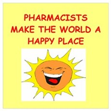 pharmacists Wall Art Poster