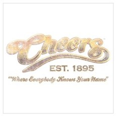 Cheers Wall Art Poster