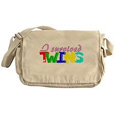 I survived twins Messenger Bag