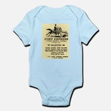 Pony Express Infant Bodysuit