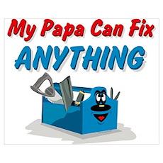 Fix Anything Papa Wall Art Poster