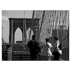 """""""Three In Brooklyn"""" Poster"""