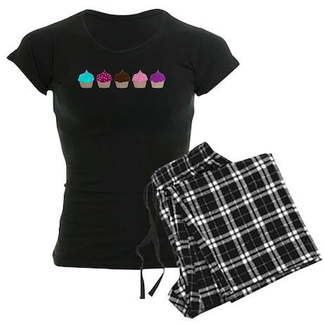 Cupcake Love Women's Dark Pajamas